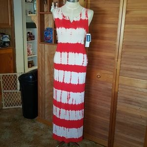 NWT Marshalls Tie Dye Maxi Dress